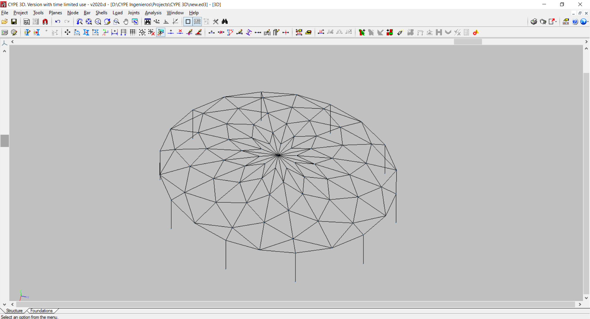Import DXF DWG files to Cype3D